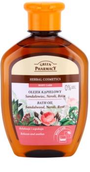 Green Pharmacy Body Care Sandalwood & Neroli & Rose óleo de banho