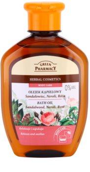 Green Pharmacy Body Care Sandalwood & Neroli & Rose олійка для ванни