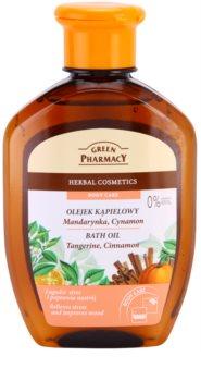 Green Pharmacy Body Care Tangerine & Cinnamon koupelový olej