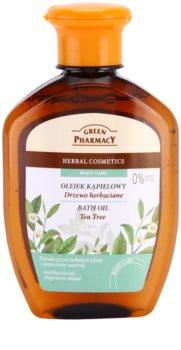 Green Pharmacy Body Care Tea Tree olio da bagno