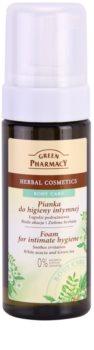 Green Pharmacy Body Care White Acacia & Green Tea espuma para la higiene íntima