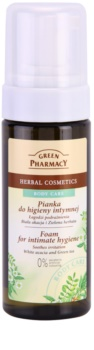 Green Pharmacy Body Care White Acacia & Green Tea pěna na intimní hygienu