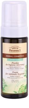 Green Pharmacy Body Care White Acacia & Green Tea Schaum für die intime Hygiene