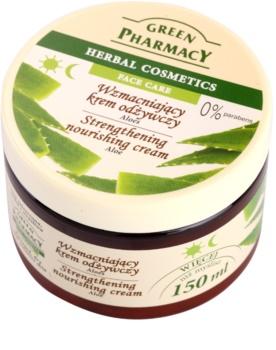 Green Pharmacy Face Care Aloe crème nourrissante fortifiante