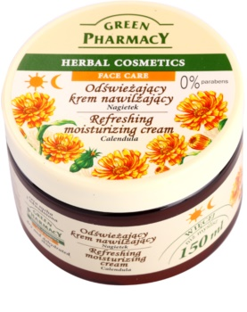 Green Pharmacy Face Care Calendula creme hidratante refrescante para pele seca desidratada