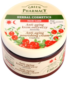 Green Pharmacy Face Care Cranberry creme nutritivo anti-idade de pele