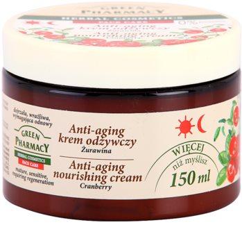 Green Pharmacy Face Care Cranberry creme nutritivo anti-idade de pele