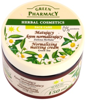 Green Pharmacy Face Care Green Tea Mattifying Cream for Oily and Combination Skin