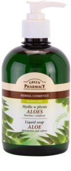 Green Pharmacy Hand Care Aloe рідке мило