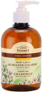 Green Pharmacy Hand Care Chamomile sapone liquido