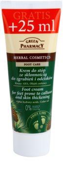Green Pharmacy Foot Care Creme für die Fußsohlen mit Neigung zu Schwielenbildung