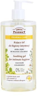 Green Pharmacy Pharma Care Oak Bark Chamomile gel lenitivo per l'igiene intima