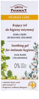 Green Pharmacy Pharma Care Oak Bark Chamomile beruhigendes Gel für die intime Hygiene