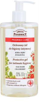 Green Pharmacy Pharma Care Oak Bark Cranberry ochranný gel na intimní hygienu