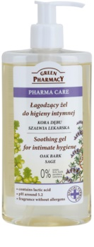 Green Pharmacy Pharma Care Oak Bark Sage gel apaziguador para higiene íntima
