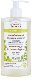 Green Pharmacy Pharma Care Oak Bark Tea Tree gel na intimní hygienu