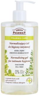 Green Pharmacy Pharma Care Oak Bark Tea Tree gel para higiene íntima
