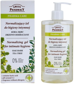 Green Pharmacy Pharma Care Oak Bark Tea Tree gél na intímnu hygienu