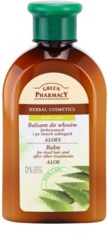 Green Pharmacy Hair Care Aloe bálsamo para cabelos pintados e quimicamente tratados