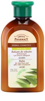 Green Pharmacy Hair Care Aloe balzám pro barvené a jinak ošetřené vlasy