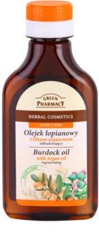 Green Pharmacy Hair Care Argan Oil olejek łopianowy do włosów o działaniu regenerującym