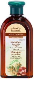 Green Pharmacy Hair Care Argan Oil & Pomegranate șampon pentru par uscat