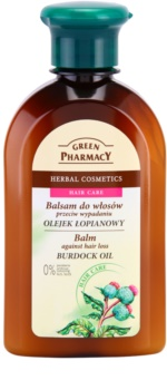 Green Pharmacy Hair Care Burdock Oil βάλσαμο για την αντιμετώπιση της  τριχόπτωσης