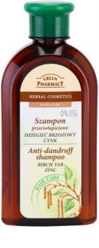 Green Pharmacy Hair Care Birch Tar & Zinc szampon przeciwłupieżowy
