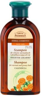 Green Pharmacy Hair Care Calendula sampon normál és zsíros hajra
