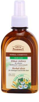 Green Pharmacy Hair Care bylinný elixír pre poškodené a lámavé vlasy