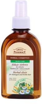 Green Pharmacy Hair Care ekstrakt ziołowy do włosów zniszczonych i łamliwych