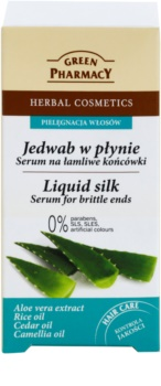 Green Pharmacy Hair Care Liquid Silk sérum na křehké konečky vlasů