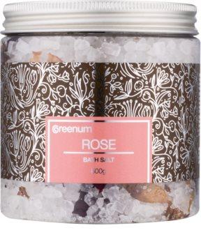 Greenum Rose Bath Salt