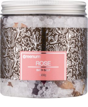 Greenum Rose soľ do kúpeľa