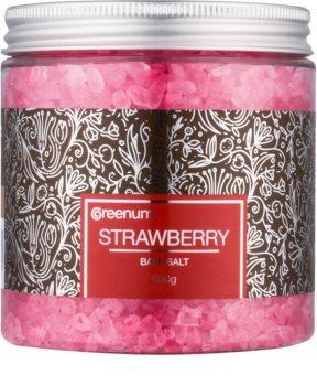 Greenum Strawberry koupelová sůl