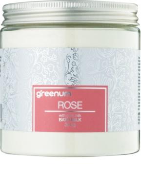 Greenum Rose mleko za kopel v prahu