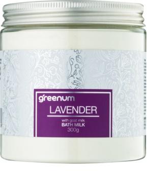 Greenum Lavender lapte de baie pudră