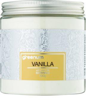 Greenum Vanilla lapte de baie pudră