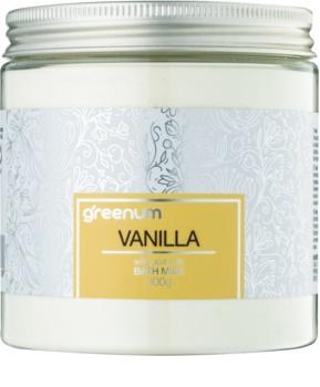 Greenum Vanilla mléko do koupele v prášku