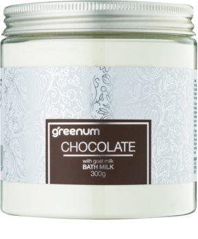 Greenum Chocolate lapte de baie pudră