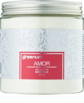 Greenum Amor молочко для ванни у вигляді порошку