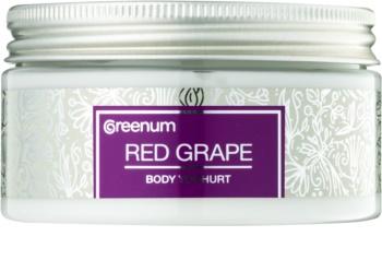 Greenum Red Grape yogurt per il corpo