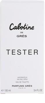 Gres Cabotine de Grès toaletní voda tester pro ženy 100 ml