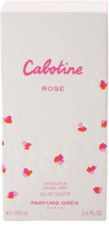 Grès Cabotine Rose eau de toilette pour femme 100 ml