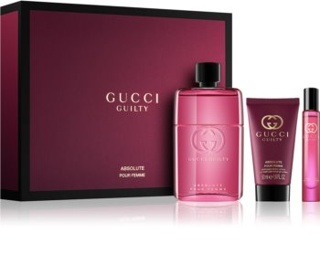 babc42165 Gucci Guilty Absolute Pour Femme, coffret cadeau V. | notino.be