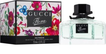 Gucci Flora by Gucci Eau Fraîche toaletná voda pre ženy 75 ml