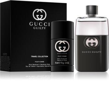 Gucci Guilty Pour Homme Travel Set XII. for Men