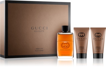 57eaa5c0b Gucci Guilty Absolute Gift Set I. Gucci Guilty Absolute Gift Set I. Eau De  Parfum 50 ml ...