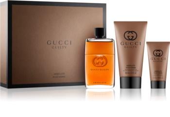 Gucci Guilty Absolute poklon set II. za muškarce