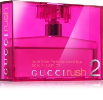 Gucci Rush 2 Eau de Toillete για γυναίκες 50 μλ